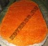 Турецкий ковер шагги 24000-оранжевый ов